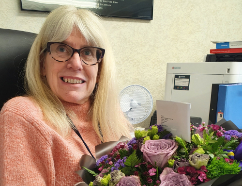 Debbie celebrates 40th work anniversary at Chadwicks